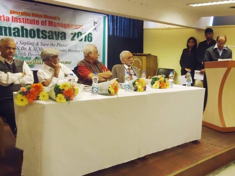 Vanamahotsava 2016 to commemorate Dr. K M Munshijis birthday